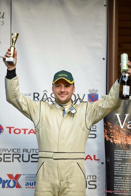 "Aurelian ""Dode"" Andronache, primul podium cu noua masina in 2015"