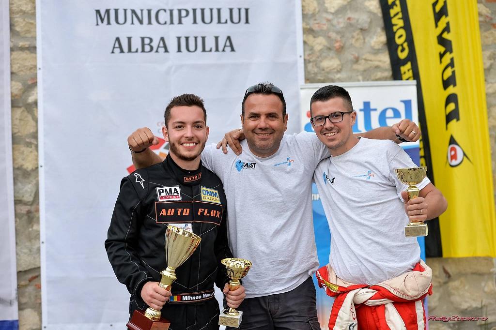 Două echipaje Danny Ungur Racing debutează pe podium în Campionatul Național de Viteză în Coastă