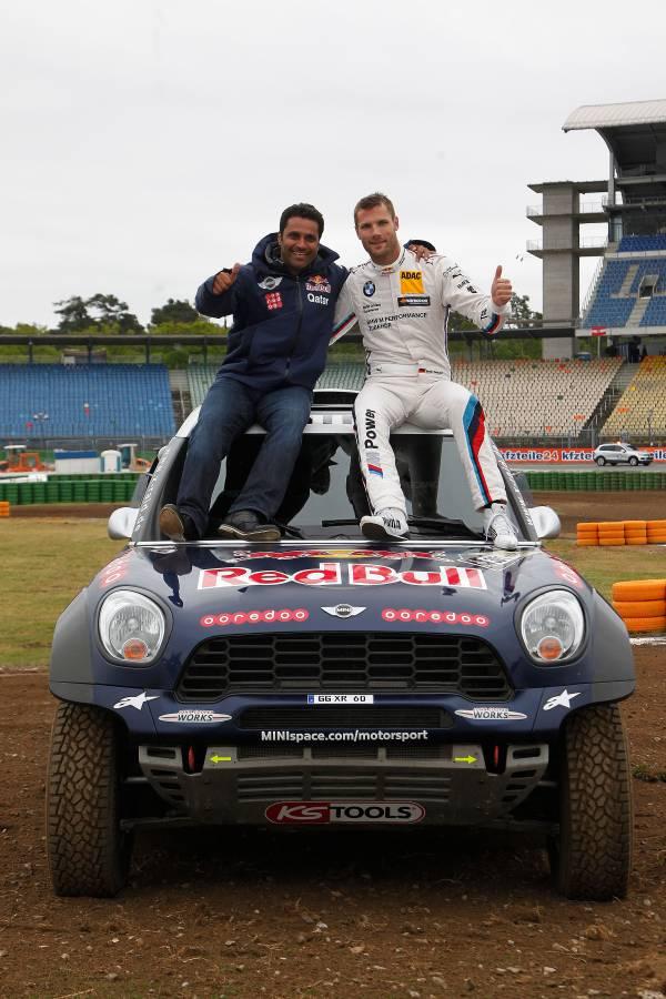 Doi campioni au schimbat cockpitul: Martin Tomczyk si Nasser Al-Attiyah