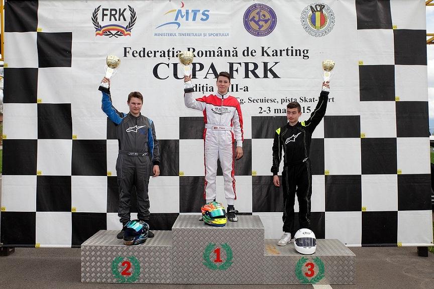 Cupa FRK a fost un test util pentru principalii protagoniști din Campionatul Național de Karting Viteză pe Circuit