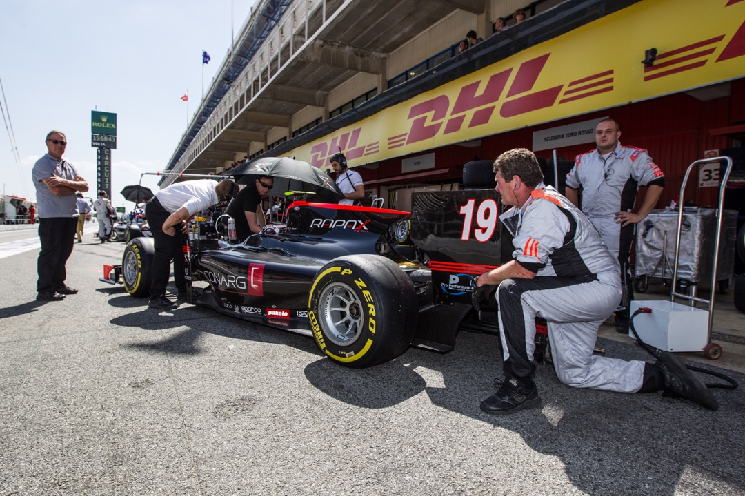 Robert Visoiu, start la Monaco