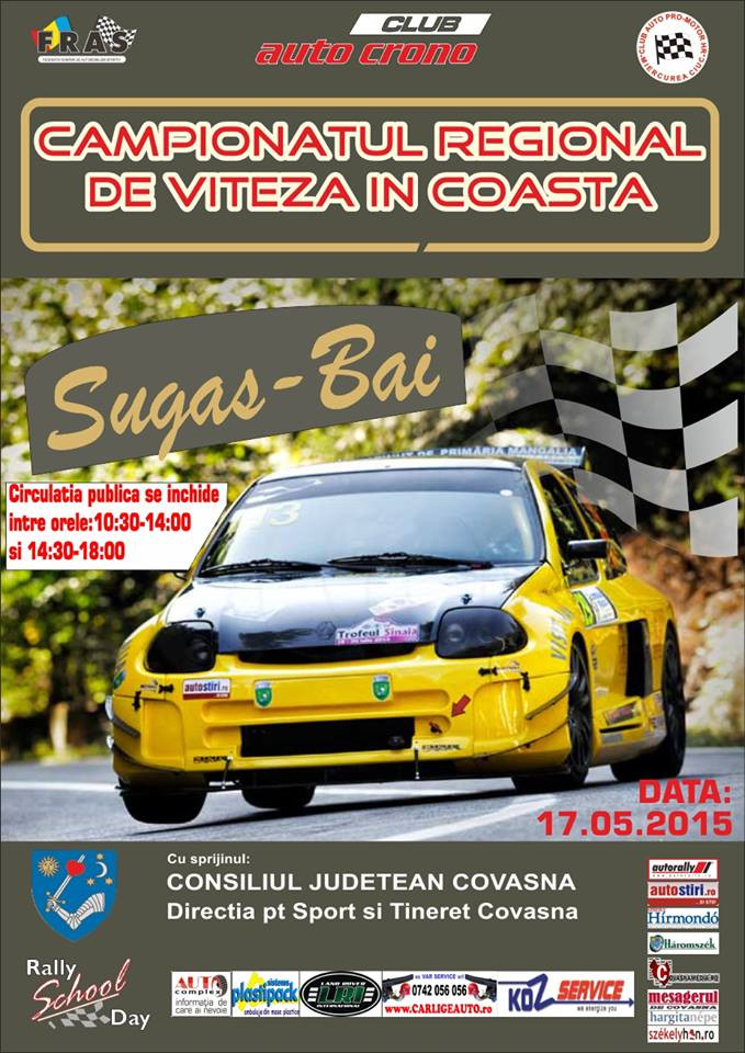 Start in Campionatul Regional de Coasta!