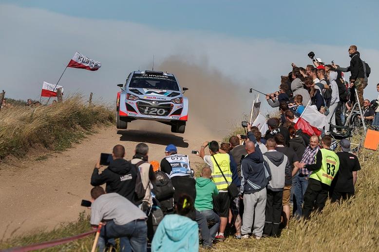 Raliul Poloniei: Echipa Hyundai Motorsport va lua startul cu patru masini
