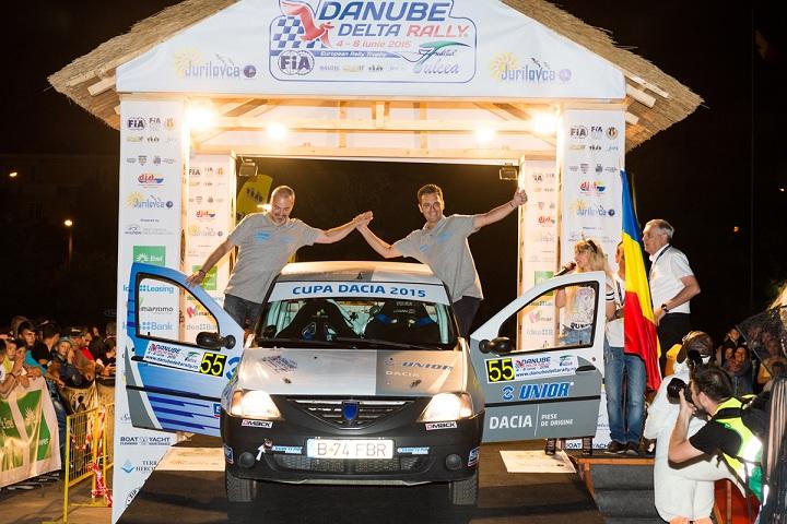 Danube Delta Rally: Adrian Drăgan și Vali Brădățeanu au făcut spectacol în Cupa DACIA