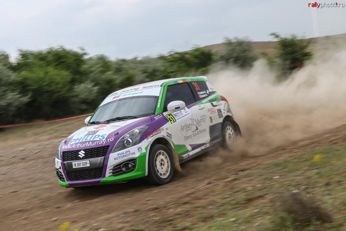 Raliul Moldovei Moinești, luptă în trei în Cupa Suzuki