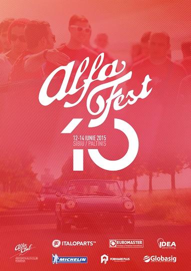AlfaFest 10, Sibiu-Paltinis, 12-14 iunie 2015