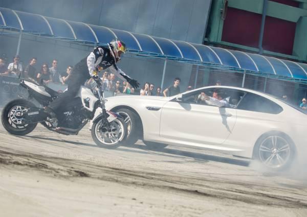 Chris Pfeiffer şi Claudiu David – BMW Motorrad întâlneşte BMW M