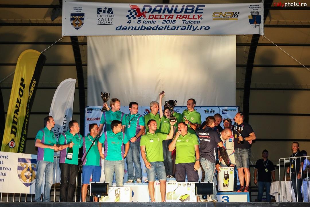 Danube Delta Rally: Rareș Tomiță urcă Sibiu Racing Team pe locul doi în clasamentul echipelor