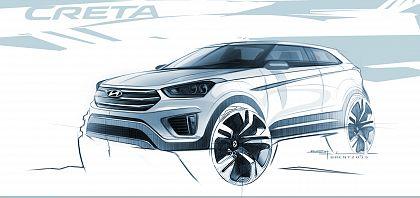 Hyundai Motor Company a dezvaluit schita viitorului model Creta