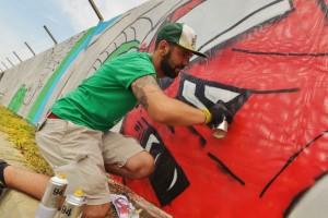 Graffiti Wrooom Wall