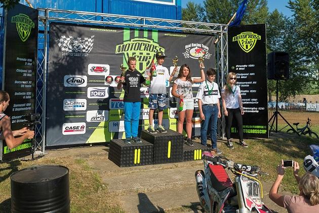 Fetele din Motocross Cup