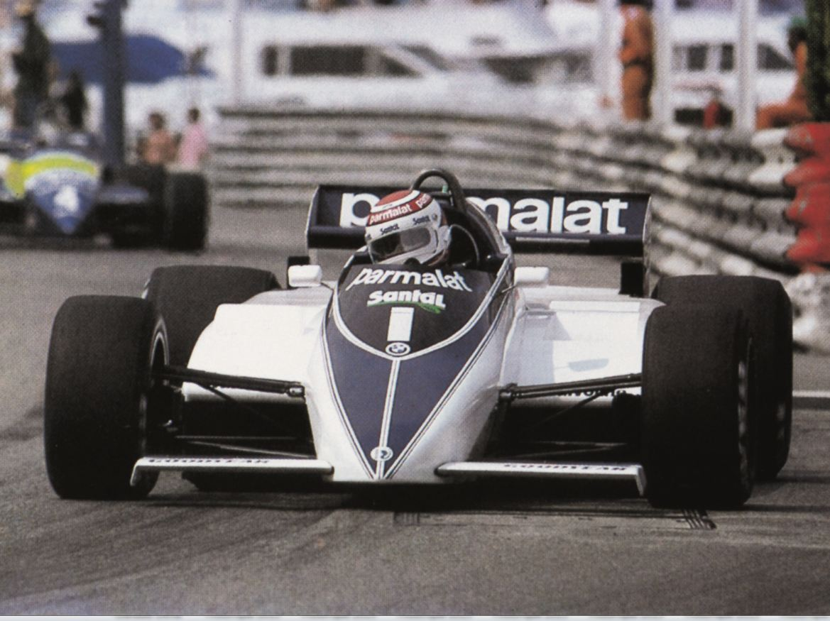BMW Group Classic readuce Brabham BMW BT52 pe circuit