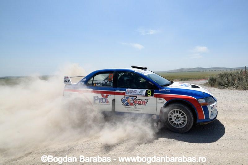 Danube Delta Rally: podium pentru Manu Mihalache si Jancsi Soos