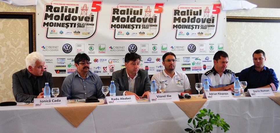 Start oficial in Raliul Moldovei Moinesti 2015
