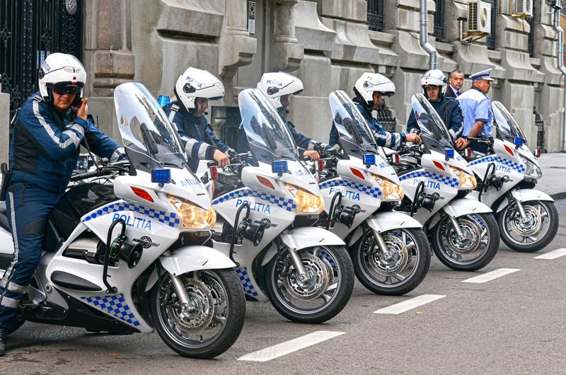 Motocicletele Honda în dotarea Poliţiei Rutiere