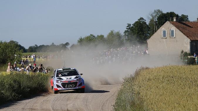 Hyundai Motorsport, început promitator în Raliul Poloniei