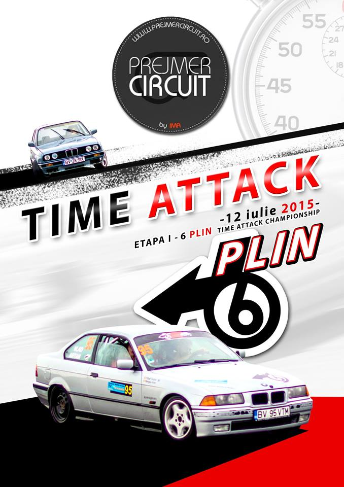 Time attack 6 Plin & Prejmer Circuit, etapa I