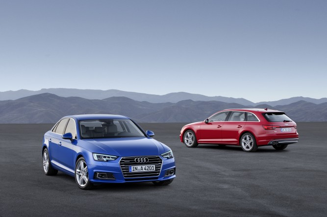 Noul Audi A4 și A4 Avant – High tech all the way