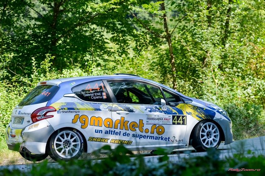 Transilvania Rally, experienta benefica pentru echipa Shark Racing