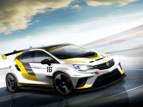Noul Astra pentru circuitul de curse