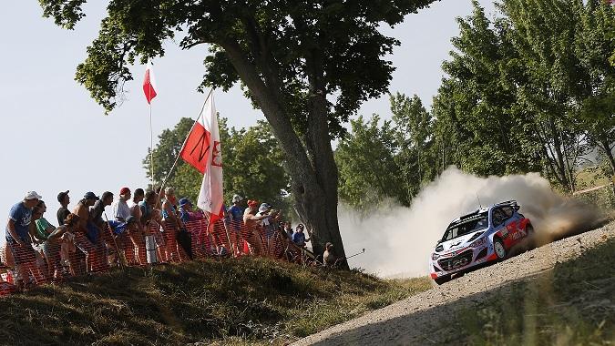 Raliul Poloniei: echipa Hyundai Motorsport a reusit o performanta excelenta