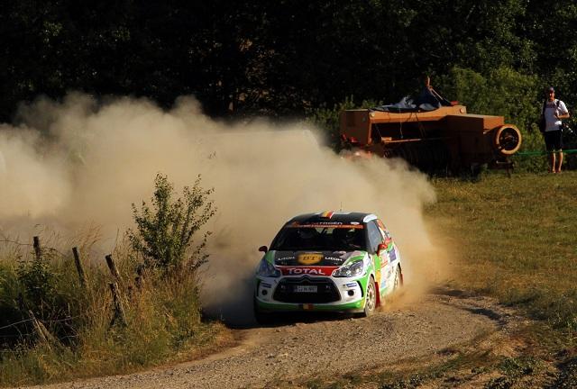 Simone Tempestini este lider în Junior WRC după penultima zi din Raliul Poloniei