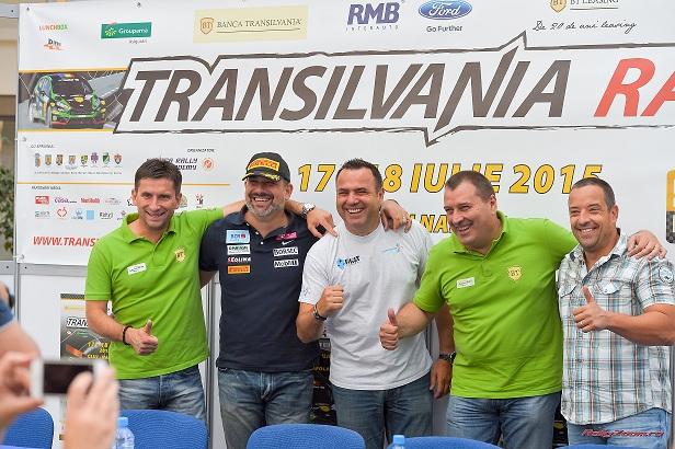 Transilvania Rally, 49 de echipaje iau startul