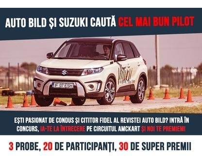 """Suzuki România este partener oficial al revistei Auto Bild în proiectul """"Best Driver"""""""