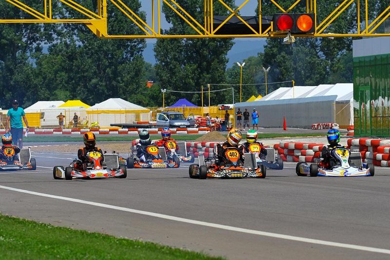 Piloții din Campionatul Național de Karting al României au făcut spectacol la Târgu Secuiesc