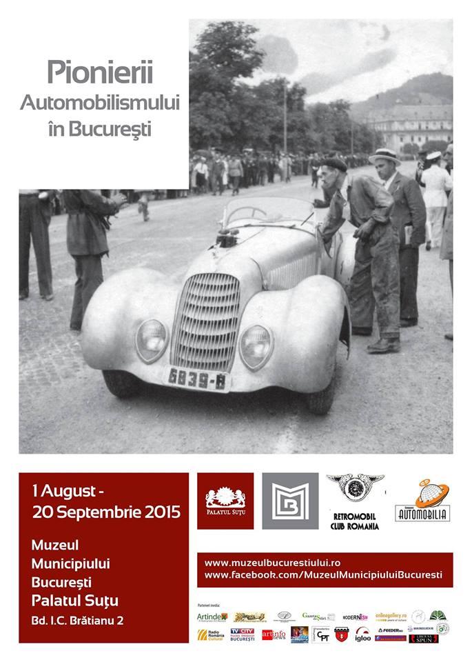 Pionierii automobilismului în Bucureşti