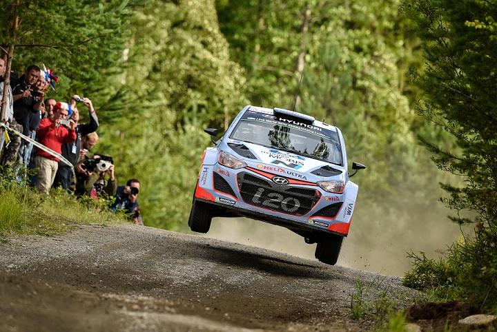 Raliul Finlandei: obiectiv atins pentru Hyundai Motorsport
