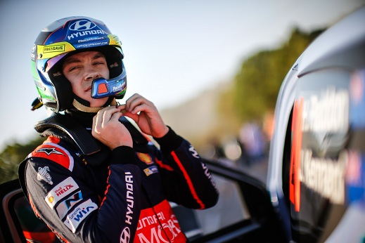 Raliul Australiei, Hayden Paddon va pilota pentru Hyundai Shell WRT