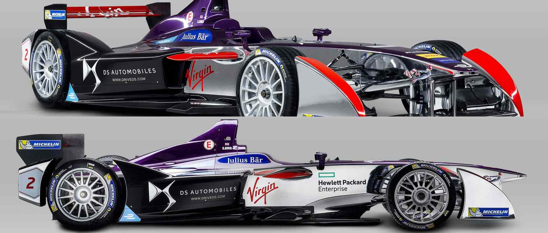 DS Virgin Racing dezvăluie monoposturile de Formula E