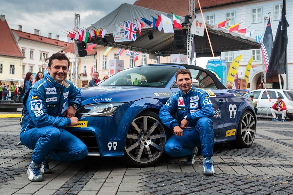 Sibiu Rally Challenge 2015: Audi TT-RS by MTM a deschis drumul pe Transfăgărăşan