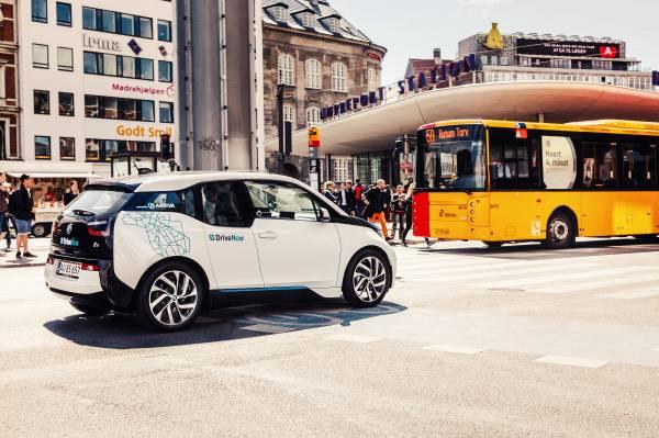 DriveNow vine în Copenhaga cu o flotă de 400 BMW i3