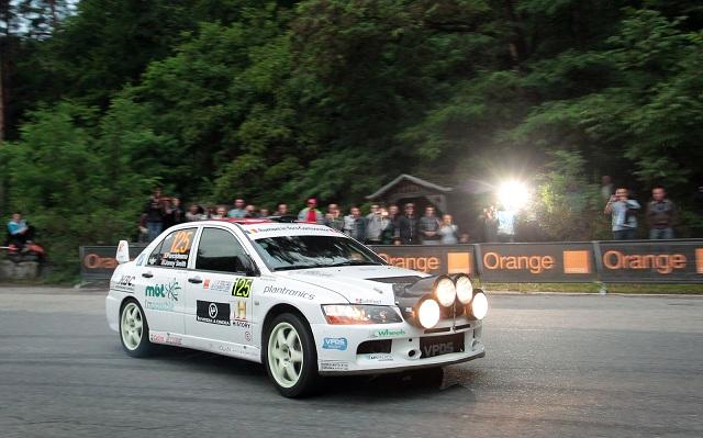 Sibiu Rally Challenge: Simone Tempestini este lider după prima zi