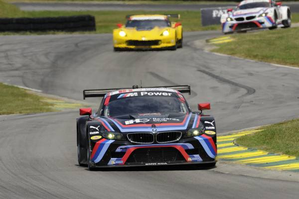 BMW Team RLL in top 5 pe  Virginia International Raceway