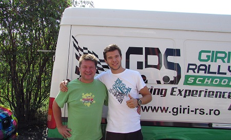 Trofeul Teliu: Andrei, fiul lui Dan Gîrtofan, debutează în automobilism