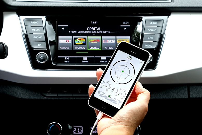 ŠKODA SmartGate: conduceţi inteligent