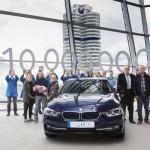 BMW Seria 3 Sedan cu numărul 10 milioane revine şcolii de condus din Eichstätt