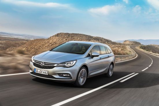 Frankfurt, premiera mondială: Opel Astra Sports Tourer