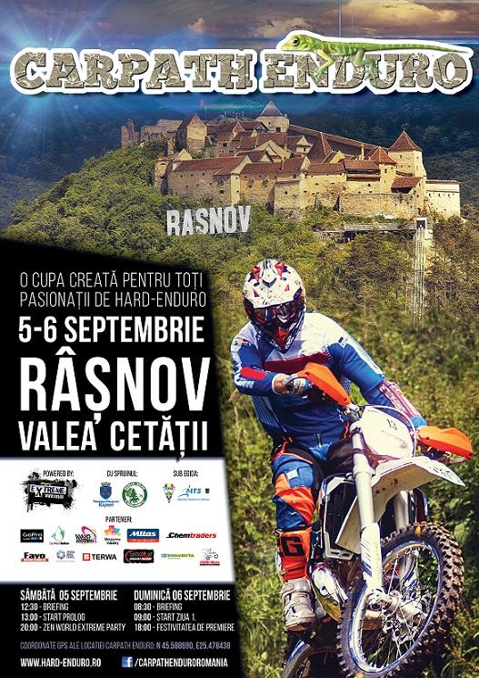 Carpath Enduro Cup weekendul acesta la Râșnov