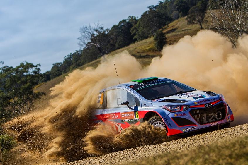 Raliul Australiei, Hyundai Motorsport continua lupta pentru puncte