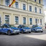 BMW i3, automobil pentru poliţie pentru patrulările urbane în München