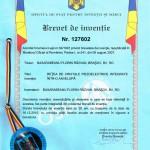 Basarabeanu Florin Razvan, brevet de inventie pentru introducerea cristalelor piezoelectrice in anvelopa