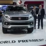 Noul Fiat Fullback, prezentat în premieră la Salonul Auto de la Dubai