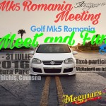 Meet and Fun, Meetingul National Golf Mk5 Romania