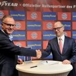 Bayern Munchen si Goodyear, parteneriat de platina