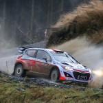 Raliul Marii Britanii: Hyundai Motorsport a terminat sezonul intr-un ritm competitiv