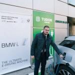 BMW i3 partener la inaugurarea primei staţii publice de încarcărcare pentru automobile electrice